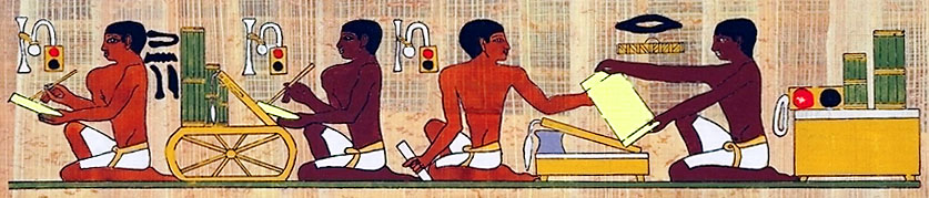EGYPTIAN SCRIBES