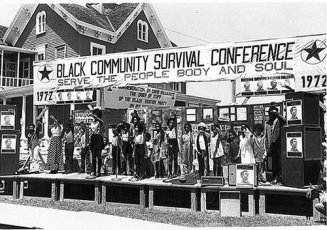 BLACK COMMUNITY SURVIVAL CONF 1972