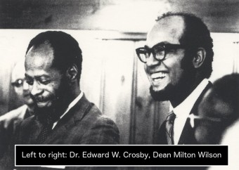 DR CROSBY & DR WILSON & NAME TAG