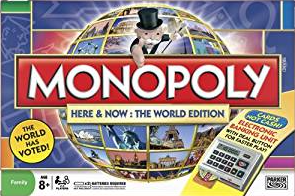 MONOPOLY WORLD EDITION - HERE & NOW