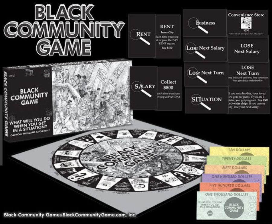 THE BLACK COMMUNITY GAME