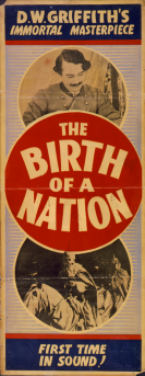 BIRTH OF A NATION - FIRST TIME IN SOUND