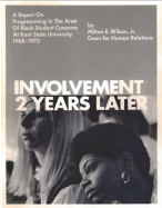 INVOLVEMENT 2 YEARS LATER COVER